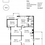 3 Hawke Lane, Kanmantoo Floor Plan