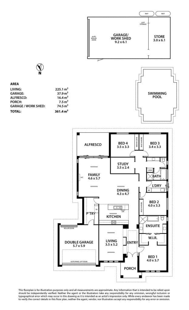 8 vienna court mount barker sexton glover watts for 11 brunel crt floor plan